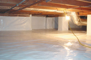 Crawl Space Insulation in Georgia